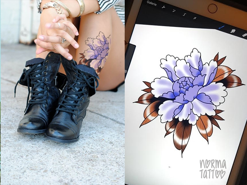 Pivoine violette | RESERVE