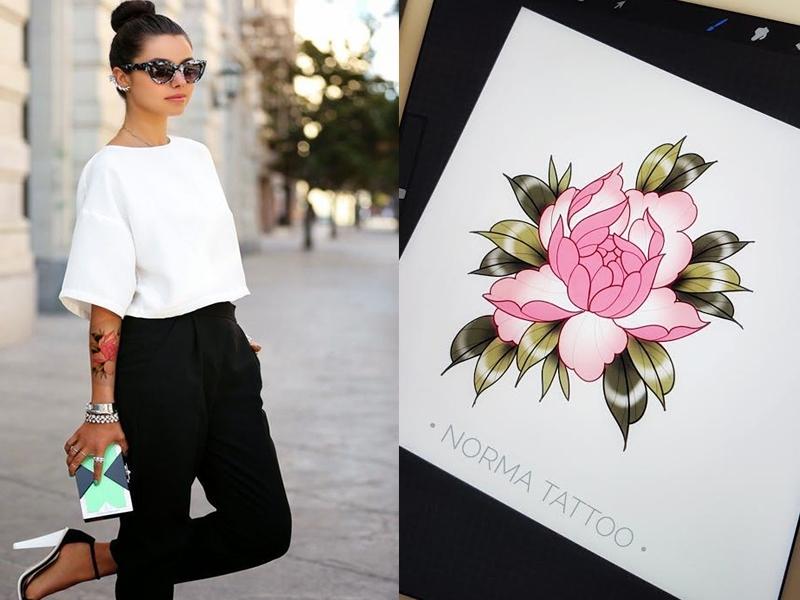 Pivoine pointe rose | RESERVE