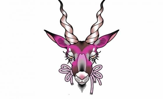 Gazelle ♥ DISPO (taille minimum : 10 cm )